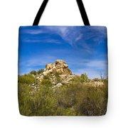 Desert Boulders Tote Bag