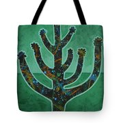 Desert Green Tote Bag