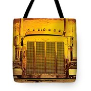 Desert Hauler Abstract Tote Bag