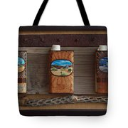 Desert Tryptich Tote Bag