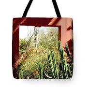 Desert Window Tote Bag