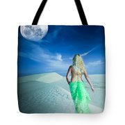 Desert Woman Tote Bag