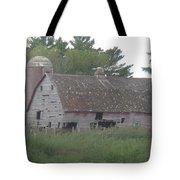 Deserted Barn Tote Bag