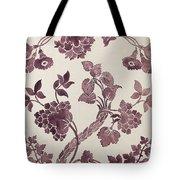 Design For A Silk Damask Tote Bag