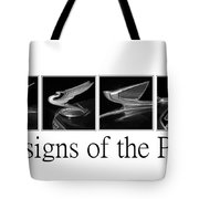 Designs Of The Past Tote Bag