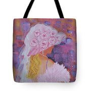Pink Hat Beauty Tote Bag