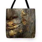 Detail Buddhas Lips Tote Bag