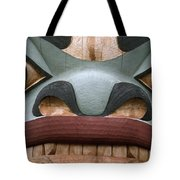 Detail Of A Totem Pole Tote Bag