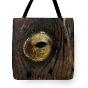 Detail Of The Eye Of A Snake Eel, North Tote Bag