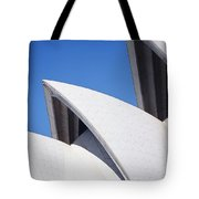 Detail Of The Roof Of The Sydney Opera Tote Bag
