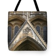 Detail Of Westminster Abbey Tote Bag