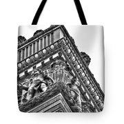 Details Of The Ellicott Buildings Roof Tote Bag