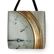 Details Of Time 2 Tote Bag