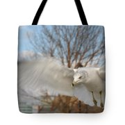 Determined Gull Tote Bag