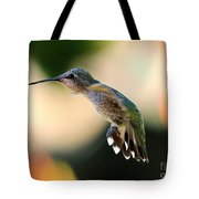 Determined Hummingbird Tote Bag