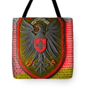 Deutsch Weimarer Shield Tote Bag