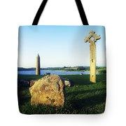 Devenish Island, Co Fermanagh, Ireland Tote Bag