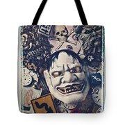 Devil Mask Tote Bag
