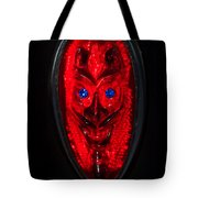 Devil With Sapphire Eyes Tote Bag