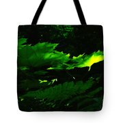 Devils Club In The Light  Tote Bag