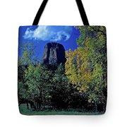 Devil's Tower Autumn Tote Bag