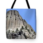 Devil's Tower Full View Tote Bag