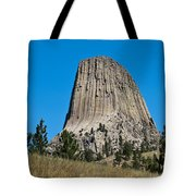 Devils Tower Wyoming -2 Tote Bag