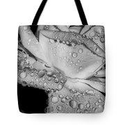 Dew Drop Rose Tote Bag