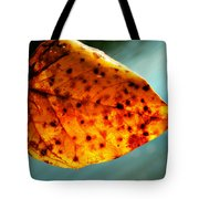 Dew To The Fall Tote Bag