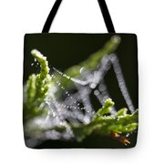 Dew With The Jitters Tote Bag