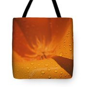 Dewdrops On A Flower Tote Bag