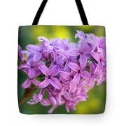 Dewdrops On Lilacs Tote Bag