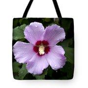 Dewey Hibiscus Tote Bag