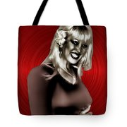 Diamond Girl Tote Bag