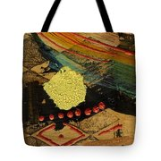 Diamond Sand Storm Tote Bag