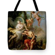 Diana And Endymion Tote Bag