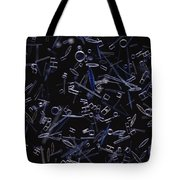 Diatoms Tote Bag