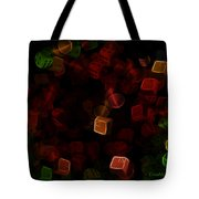 Dice And Letters Tote Bag