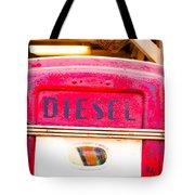 Diesel Pump Tote Bag by Tom Gowanlock