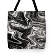 Digital Art Abstract Tote Bag