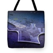 Digital-art E-guitar I Tote Bag by Melanie Viola