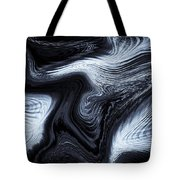 Digital Blue Art Tote Bag