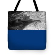 Digital Cloud Abstract Tote Bag