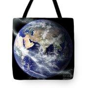 Digitally Enhanced Image Of The Full Tote Bag