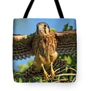 Digitally Enhanced Image, Painterly Tote Bag