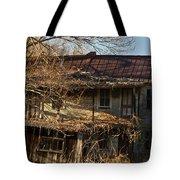 Dilapidated Farmhoue Tote Bag