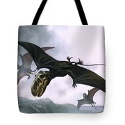 Dimorphodon Tote Bag by William Francis Phillipps