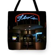 Diner At Night Tote Bag