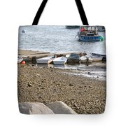 Dinghies At Green Harbor Tote Bag
