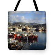 Dingle, Co Kerry, Ireland Boats In A Tote Bag